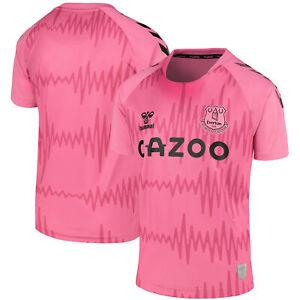 Everton Away Goalkeeper Football T-Shirt Shirt 2020-21 Hummel  - Kids