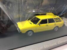 Minichamps volkswagen vw passat variant I generation 1974 yellow 1:43