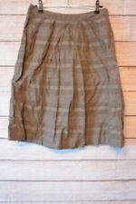 Polyester Striped Regular Size VERONIKA MAINE Skirts for Women