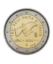 Pièce 2euros commémorative Italie 2011 – 100 ans de l'Unification Italienne