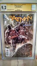 Batman Eternal #1 CGC 9.2 AUTOGRAPHED by SCOTT SNYDER