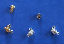 4 round magnetic clasp converter sets - 2 GP and 2 SP