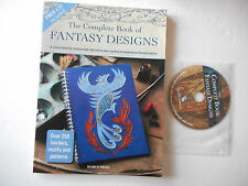 The Complete Book of Fantasy Designs,CDROM, borders,motifs,patterns,Judy Balchin