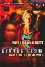 LITTLE FISH Movie POSTER 27x40 Cate Blanchett Sam Neill Hugo Weaving Martin