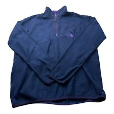 "The North Face Mens Fleece TNF Blue Size XL Winter Outdoor Vintage P2P 25"""