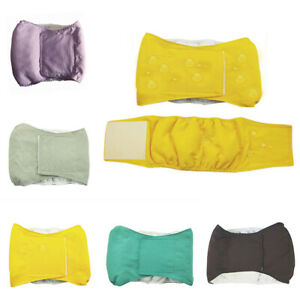 Male Dog Puppy Pet Nappy Diaper Cotton Belly Wrap Band Sanitary Pants Underpants