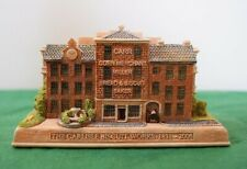 """Lilliput Lane Collectible Cottages L2937 """"Biscuit Work Carlisle"""" Mib with deed."""