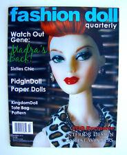 Fashion Doll Quarterly FDQ Magazine Summer 2014 Madra Pidgin Kingdom Ian Price