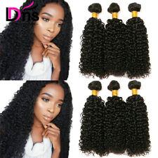 Peruvian Curly Virgin Hair Weave 3 Bundles 8A Kinky Curly Unprocessed Human Hair