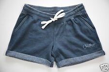 All Star Converse Donna Allenamento Fitness Hot Pants Shorts Pantaloni Blu