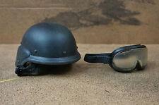 1/6 Hot Toys SWAT Female Helmet Goggles M4 Dam Triad SSGT Donald SAS LAPD DID CY