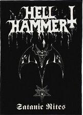 HELLHAMMERBACKPATCH / SPEED-THRASH-BLACK-DEATH METAL