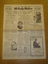 MELODY MAKER 1935 JUL 13 CARROLL GIBBONS JACK SIMPSON JACK PAYNE BIG BAND SWING
