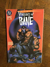 Batman Vengeance of Bane #1 1993 64-Page Special. VF Never read NEW 1st Print