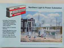 WALTHERS ** NORTHERN POWER & LIGHT Substation Kit HO Scale**FREE SHIP