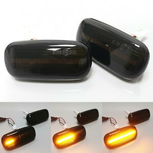 For Audi A3 S3 8P A4 B8 A6 C7 Dynamic Turn Signal Light LED Side Fender Marker
