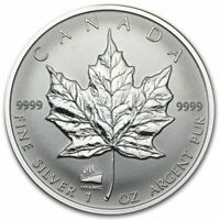 1998 1 oz Canada Silver Maple Titanic Privy Coin (BU)
