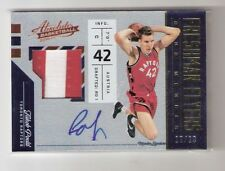 Jakob Poeltl 16/17 Absolute auto patch RC #23 SN #10/10
