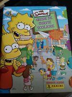 Album Panini The Simpsons Guide De Survie Scolaire / complet très bon état 2010