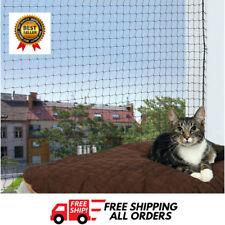 Trixie Schutzhülle Net Cat Klappen Schritte Outdoor Balkon Netze 4 x 3 M transparent
