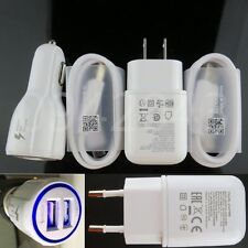 OEM Cable LED Fast Dual Car Charger Wall Adapter For LG G6 G5 V20 Nexus 5X 6P