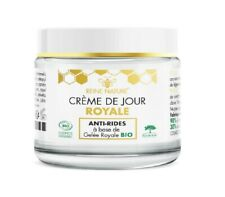 Crème de Jour Royale Anti-Rides Gelée Royale Bio REINE NATURE 50 ml /EBDL