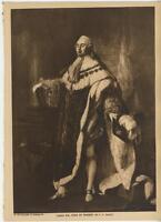ANTIQUE ROYALTY PORTRAIT KING LOUIS XVI FRANCE VERSAILLES COSTUME OLD ART PRINT
