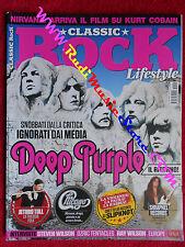 rivista CLASSIC ROCK 029/2015 Deep Purple Slipknot Jethro Tull CCCP Chicago*Nocd