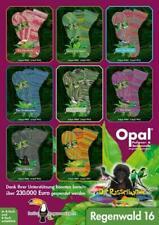 150 g OPAL Sockenwolle 6-fach Regenwald 16 Die Rasselbande