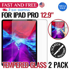 iPad Pro 12.9 Screen Protector Tempered Scratch Water Resistant Glass Sensitive