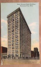 ZX727 State National Bank Building Oklahoma City OK Vintage PC