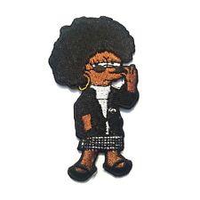 """Black Lisa Simpson iron/sew on patch """"Woke Lisa"""""""