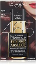 L'Oreal Paris Superior Preference Mousse Absolue, #465 Dark Auburn Brown NEW.