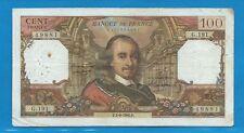 100 FRANCS CORNEILLE du 1-9-1966  G.191