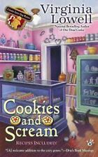 Cookies and Scream (A Cookie Cutter Shop Mystery)-ExLibrary