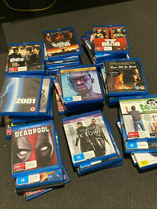 45x Bluray and DVD Movies for $8.99, Region B / Zone 4
