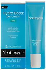 Neutrogena Hydro Boost Eye Gel-Cream with Hyaluronic Acid, .5 oz