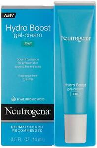 Neutrogena Hydro Boost Eye Gel-Cream with Hyaluronic Acid, .5 oz