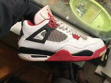 Air Jordan 4 Retro Fire Red 2012 Size 12  Cement Military Blue Oreo Bred