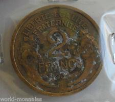 2 francs morlon 1934 : B : pièce de monnaie française