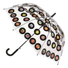 CLIFTON Umbrella - PVC - Records  - Full Size Automatic - BNWT
