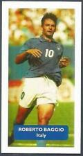 SCORE WORLD CUP STARS- #007-ITALY & JUVENTUS-ROBERTO BAGGIO