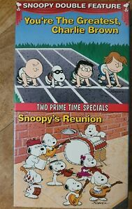 Snoopy Double Feature - You're The Greatest Charlie Brown/Snoopy's Reunion - VHS