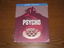 Psycho (Blu-ray Disc, 2014, Limited Edition Includes Digital Copy, SteelBook)