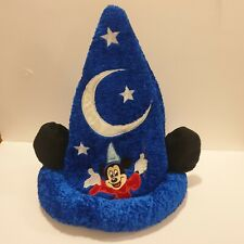 Disney Parks Mickey Mouse Sorcerer Blue Ears Hat Excellent Condition