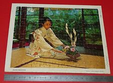 PUZZLE 80 PIECES COLLECTION CHEQUE CHIC LUSTUCRU ANNEES 1970 JAPON NIPPON JAPAN