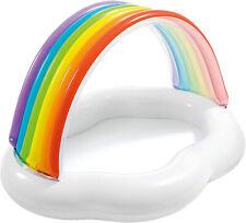 Intex Piscina gonfiabile arcobaleno gioco per bambini mare giardino spiaggia