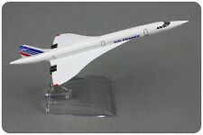 Air France Concorde F-BVFB Passenger Airplane Plane Aircraft Metal Diecast Model