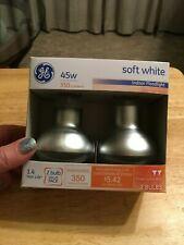 GE 73025 Soft White Indoor Floodlight, 2pk