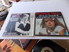 2 Vinyls 45 T FRANCE GALL.